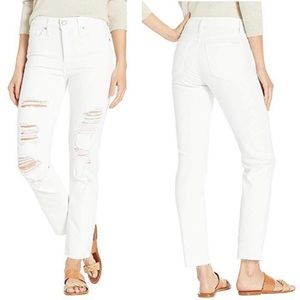 NWT Joe's Jeans Milla High Rise Straight Ankle